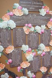 wedding plans and ideas who that friday edit 11 fabulous wedding seat chart ideas