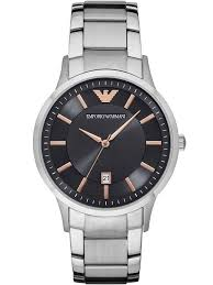 armani steel bracelet images Emporio armani mens stainless steel bracelet watch ar2514 t h jpg