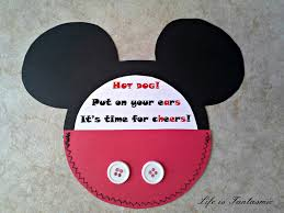 life is fantasmic mickey mouse birthday bbq