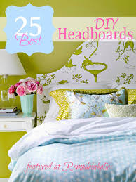 Diy Headboard Ideas by 25 Great Diy Headboard Ideas