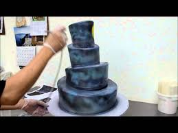 halloween cake stencils cake airbrushing process the nightmare before christmas airbrush