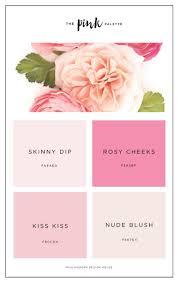 Pink Color Best 25 Blush Color Ideas On Pinterest Blush Color Palette