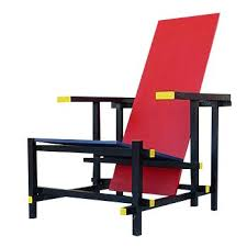 Dutch Modern Furniture by Gerritt Rietveld Dutch De Stijl Movement Chair De Stijl And Dutch