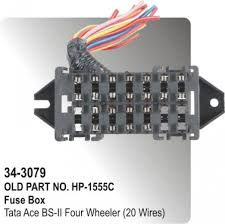 fuse box tata ace four wheeler 20 wires hp 34 3079 for tata
