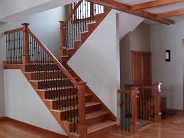 home interior stairs stair awesome stair design idea with brown mahogany treads and