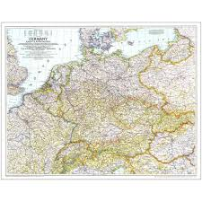 Map Of Europe 1939 by 1938 39 Germany And Its Approaches Map National Geographic Store