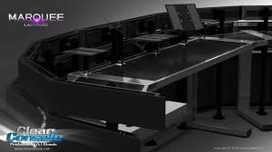 Computer Desks Las Vegas by Drake At Marquee Video Led Dj Booth Cosmopolitan Las Vegas