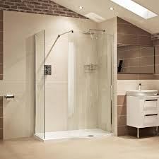 lumin8 1450mm colossus shower enclosure roman showers