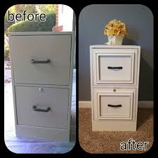 File Cabinet With Drawers 40 High Style Low Budget Furniture Makeovers You Could Definitely