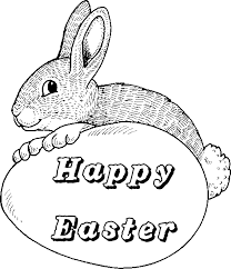 easter coloring pages easter rabbit coloring pages