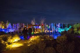 Glow Botanical Gardens Glow Winter Lights Event Picture Of Santa Fe Botanical Garden
