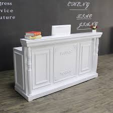 Reception Desk Wood Usd 224 02 Clothing Shop Cashier Counter Wood To Do The Bar