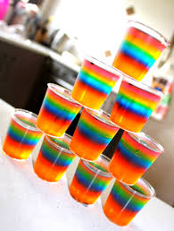 rainbow cocktail drink my rainbow vodka jelly shots my stuff pinterest vodka jelly