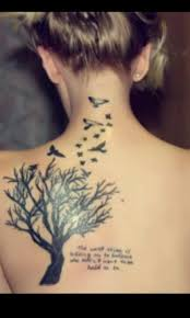 bird tattoos with quotes tree birds and quote tattoos