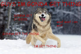 Angry Wolf Meme - 13 of the best memes from 2013