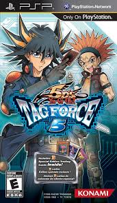 amazon com yu gi oh 5d u0027s tag force 5 sony psp video games
