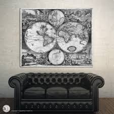 World Map Wood Wall Art by Outstanding Wall Decor Vintage World Map Wall World Map Wood Wall