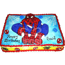 send 8lbs spiderman themed cake armeen expressgiftservice