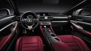 white lexus red interior lexus rc sports coupé lexus uk