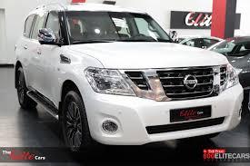 nissan patrol 2016 nissan patrol se platinum al masaood warranty the elite cars for