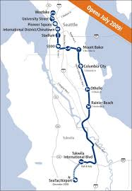seatac light rail station seattle s new link light rail system brings rapid transit to puget