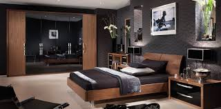 Bedroom Furniture Ready Assembled Walnut And Cream Gloss Bedroom Furniture Collections Bedroom