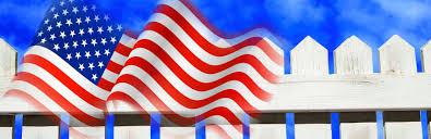 American Flag Header Call Us Please