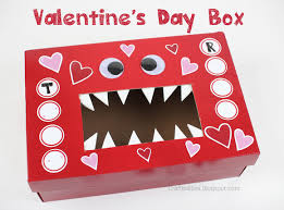 Classroom Decoration For Valentine S Day by Monster Valentine U0027s Day Box Classroom Idea Free