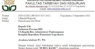 surat permohonan izin penelitian uin suka
