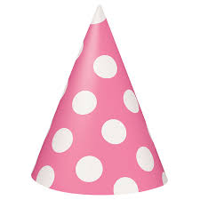 birthday hats pink polka dot party hats pink polka dot party supplies by