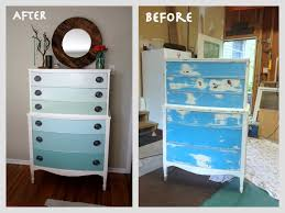 Wooden Furniture Paint How To Paint Old Wood Furniture Pertaining To Repaint Old
