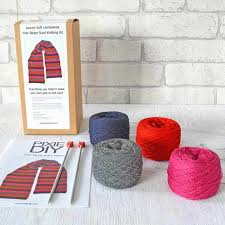 23 best diy scarf knitting kits easy to follow images on