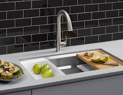 kitchen best styles kitchen sinks and faucets and super white