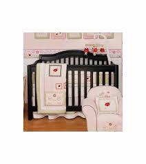 Ladybug Crib Bedding Set Kidsline Bug 6 Crib Bedding Set