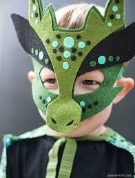 The Mask Costume Homemade Halloween Costume No Sew Dragon Mask