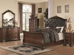 sleigh bedroom set queen maddison old world sleigh 6 pc queen bedroom 202261q seaboard