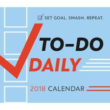 Desk Daily Calendar To Do Daily Desk 9781531902438 Calendars Com