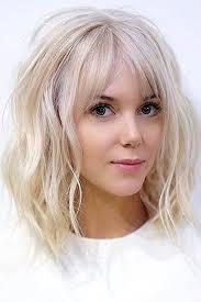 hairstyles easy to maintain medium to short 36 shining looks for medium hair with bangs medium hair factors