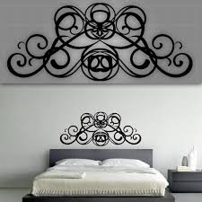 wall decals over bed color the walls your house wall decals over bed decorative headboard decal bedroom decor