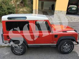 2000 land rover red 2000 defender 90 import land rover defender to canada