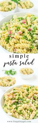 easy cold pasta salad easy pasta salad recipe with feta parsley and lemon