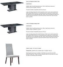 carlos contemporary italian dining and lounge furniture high