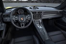porsche panamera turbo 2017 interior 2017 porsche 911 turbo turbo s pack even more power