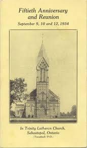 fiftieth anniversary fiftieth anniversary and reunion in lutheran church
