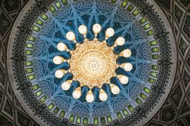 Largest Chandelier Largest Chandelier In The World At Sultan Qaboos Grand Mosque