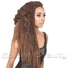 soul twist bulk hair new fashion folded senegalese synthetic hair extension 18 inch
