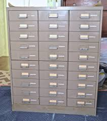 Industrial File Cabinet Ombre Painted File Cabinet