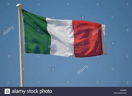 Red White Striped Flag Italian Banner Flag Flying Green White And Red Vertical Stripes