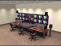 Control Room Desk Winsted Prestige Sight Line Master Control Room Console Virtual