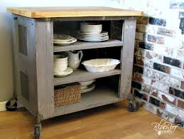 diy kitchen cart blue roof cabin diy industrial kitchen island or cart or whatever